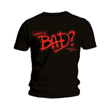 T-shirt Michael Jackson: Who's Bad