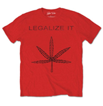 T-shirt Peter Tosh: Legalize It