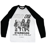 T-shirt Manches Longues Mötley Crüe: Starwood Flyer 1981