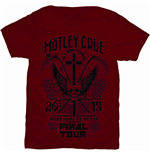 T-shirt Mötley Crüe: Final Tour