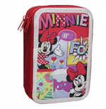 Trousse Triple Remplissage Minnie Mouse (CP)