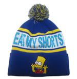 Bonnet avec Pompon Les Simpson Eat My Shorts