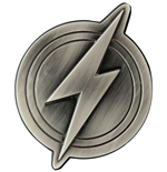 Justice League décapsuleur The Flash Logo 10 cm