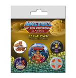 Masters of the Universe pack 5 badges I Have The Power