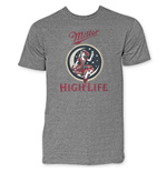 T-shirt Miller High Life Girl In The Moon