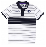 Polo Écosse rugby 2014-2015 (Blanc)