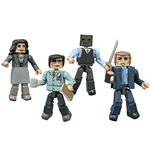 Gotham série 1 pack 4 figurines Minimates Box Set 5 cm