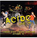 Vinyle Ac/Dc - Live '79 - Towson State College, Maryland October '79 (2 Lp) 180gr