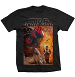 T-shirt Star Wars Épisode VII - Dameron Composition