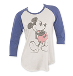 T-shirt manches longues Mickey Mouse pour femme