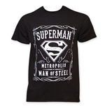 T-shirt Superman - Whiskey Style