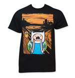 T-shirt Adventure Time - Screaming