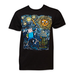 T-shirt Adventure Time - Starry Night