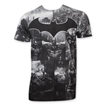 T-shirt Batman Arkham Knight (Nuances de Gris)
