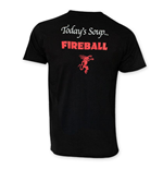 T-shirt Fireball Cinnamon Whisky pour homme