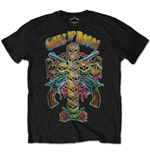 T-shirt Guns N' Roses: Skull Cross 80s