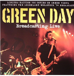Vinyle Green Day - Broadcasting Live Green Vinyl