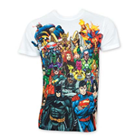 T-shirt DC Comics Super-héros