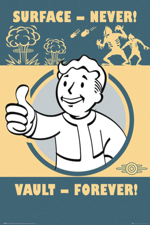 Poster Fallout 4 Vault Forever