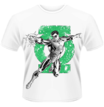 T-shirt Green Lantern DC Comics - Punch