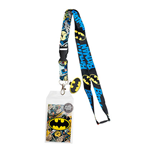 Cordon et Porte-badge Batman Comic