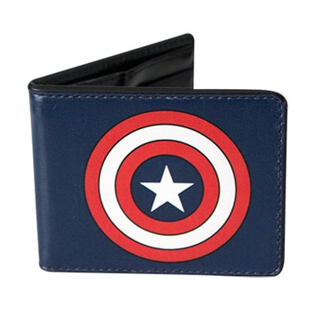 Portefeuille Double Volets Captain America