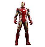 Avengers L'Ère d'Ultron figurine QS Series 1/4 Iron Man Mark XLIII 49 cm