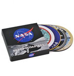 NASA pack 4 sous-verres Badges