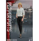 Iron Man 3 figurine Movie Masterpiece 1/6 Pepper Potts 28 cm