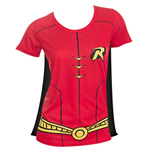 T-shirt Costume Robin avec Cape