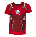 T-shirt Captain America Civil War Iron Man