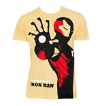 T-shirt Iron Man Michael Cho Jaune