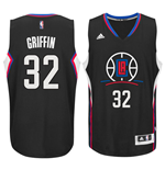 Maillot de basketball New Swingman Los Angeles Clippers Blake Griffin Adidas Alternate Noir