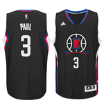 Maillot de Basketball New Swingman Los Angeles Clippers Chris Paul adidas Alternate Noir
