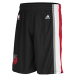 Short New Swingman Portland Trail Blazers Adidas Noir