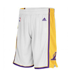 Short New Swingman Los Angeles Lakers Adidas Blanc