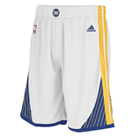 Short New Swingman Golden State Warriors Adidas Blanc