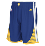 Short New Swingman Golden State Warriors Adidas Bleu Royal