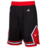 Short Swingman Chicago Bulls Adidas Noir