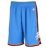 Short New Swingman Oklahoma City Thunder Adidas Bleu Clair
