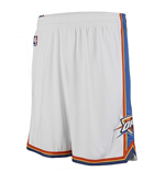 Short New Swingman Oklahoma City Thunder Adidas Blanc