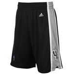 Short New Swingman San Antonio Spurs Adidas Noir