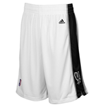 Short New Swingman San Antonio Spurs Adidas Blanc