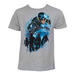 T-shirt Captain America: Civil War - Cap Sector
