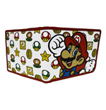 Portefeuille Double Volet Nintendo - Mushroom Pattern With Mario