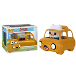 Adventure Time POP! Rides Vinyl Véhicule avec figurine Jake Car & Finn 12 cm