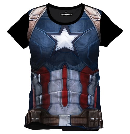 T-shirt Captain America: Civil War