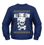 Sweat-shirt All Time Low CHRISTMAS SKULL