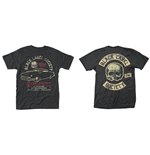 T-shirt Black Label Society - Hell Riding Hot Rod