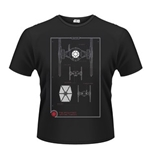 T-shirt Star Wars: Le Révei de la Force Tie Fighter Maintenance Manual